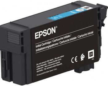 Картридж Epson UltraChrome XD2 Cyan T40C240 (26ml) для T3100/5100