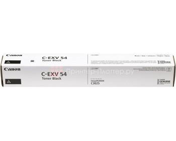 Туба с тонером C-EXV 54 BK для Canon iRA C3025 / 3125 (15 500 стр.)