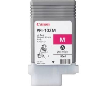 Картридж PFI-102 M (малиновый) для Canon IPF605 (130 мл)