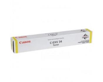 Туба с тонером C-EXV 34 Y для Canon iRA C22xx (19 000 стр.)