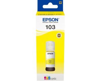 Чернила Epson 103 EcoTank Yellow ink bottle (7500 стр.) для L31xx