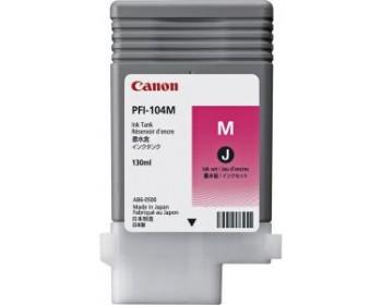 Картридж PFI-104 M (малиновый) для Canon IPF750 (130 мл)