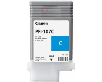 Картридж PFI-107 С (голубой) для Canon IPF670/770 (130 мл)