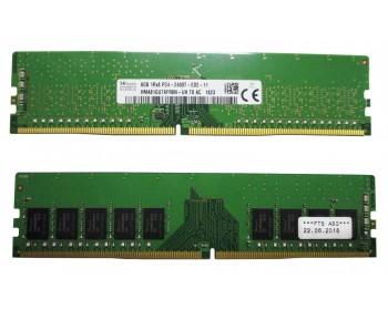 RAM 8 GB (1x8GB) 1Rx8 DDR4-2400 U ECC S26361-F3909-L615